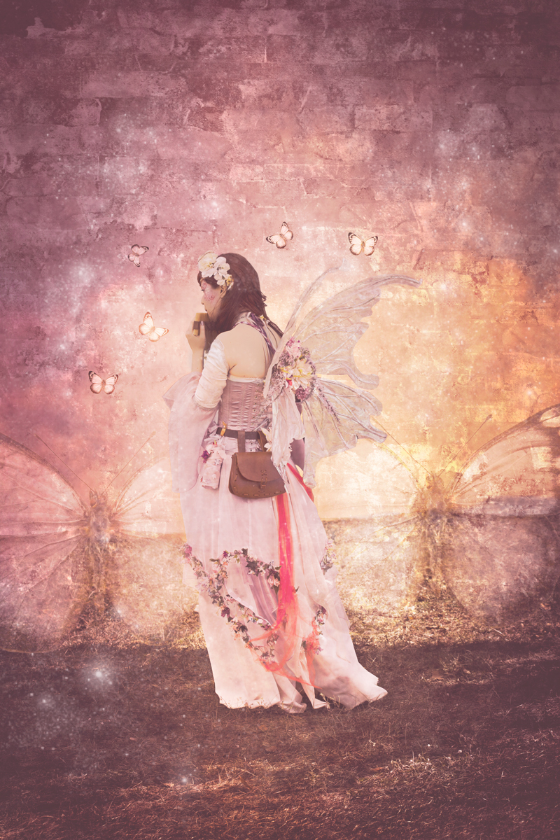 Woodland Fairy - Fine Art/Conceptual Photography by Kareen Rashelle